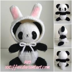 Fluffy Panda by xxtiffiee
