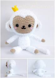 Fluffy Monkey by xxtiffiee
