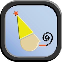 Party Icon - 192 pixels by CharlesWayneRobinson
