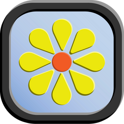 Flower Icon - 192 pixels by CharlesWayneRobinson