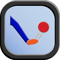 Kick Icon - 192 pixels by CharlesWayneRobinson