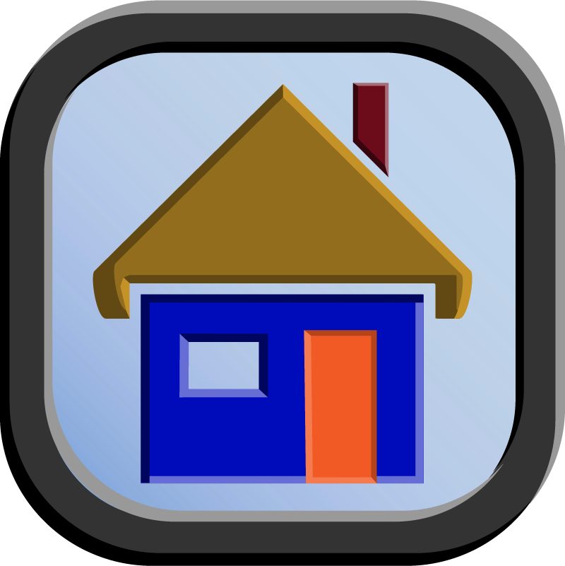 Home Icon - 192 pixels by CharlesWayneRobinson
