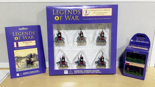 Legends of War Series