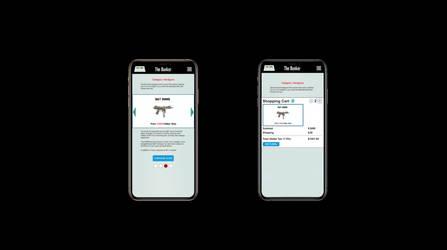 Axure Store App - Handgun - Assault Model