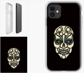 RedBubble Products - Cell Phone Cover - Skull