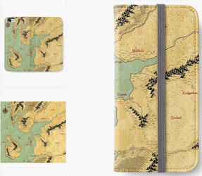 iPhone Wallet - Cartography as Art