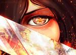 Mikasa - AOT by Dij-Art