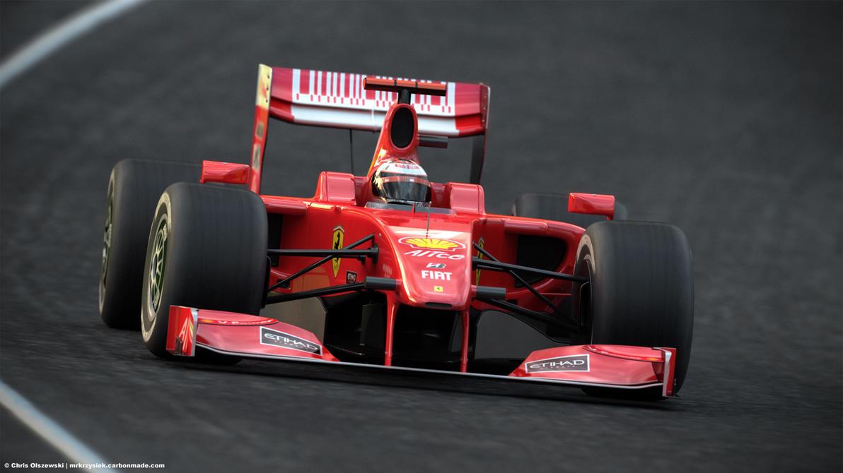 Ferrari F1 2009 by mrkrzysiek