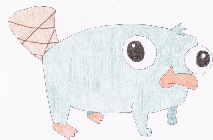 Baby perry the platypus by waxybubbles on deviantart