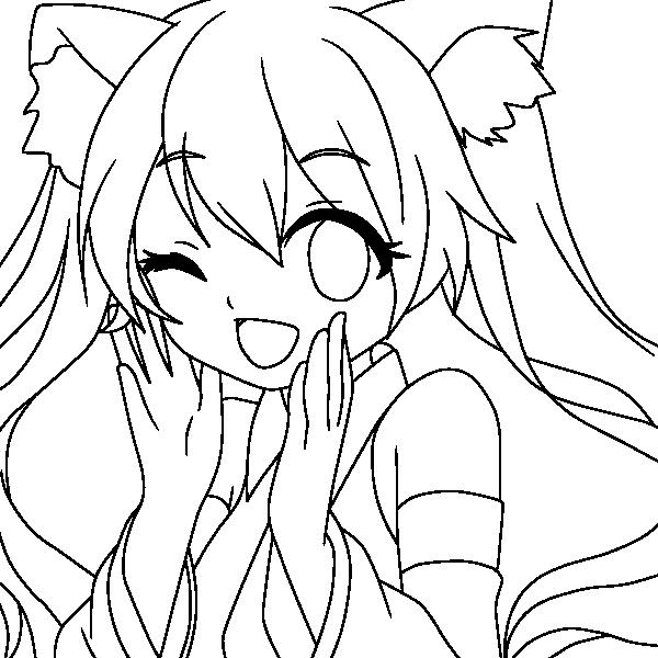 hatsune miku lineart by notheryne on deviantart