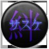 Bonds-Sasuke 1 pin by KAZECoyote