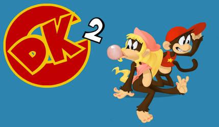 DKC2 title/thumbnail card + video by Nervousgamer