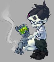 Nina the Tough School Ghoul