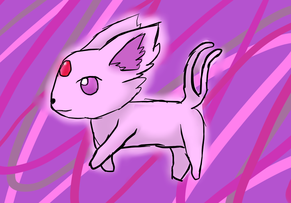 Espeon by linkgirl1