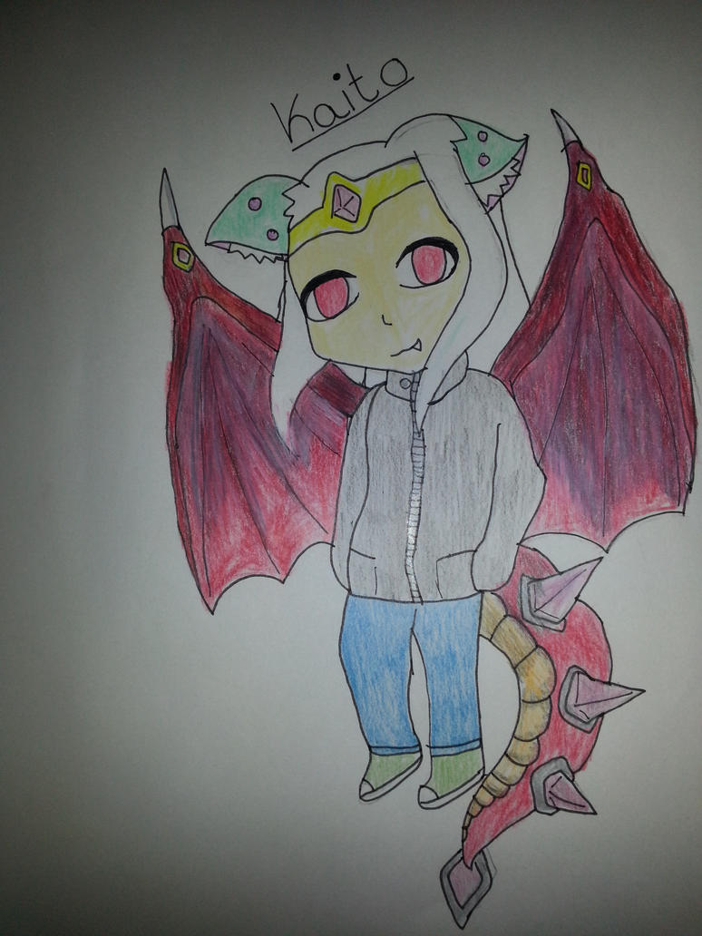 My New Oc Kaito by linkgirl1