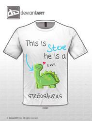Steve the Stegosaurus