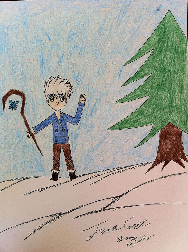 Jack Frost by JustMiracleZ