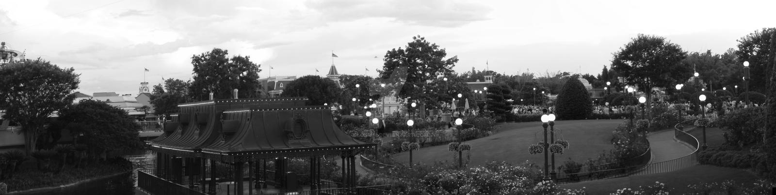 Main Street Disney by Clobrim
