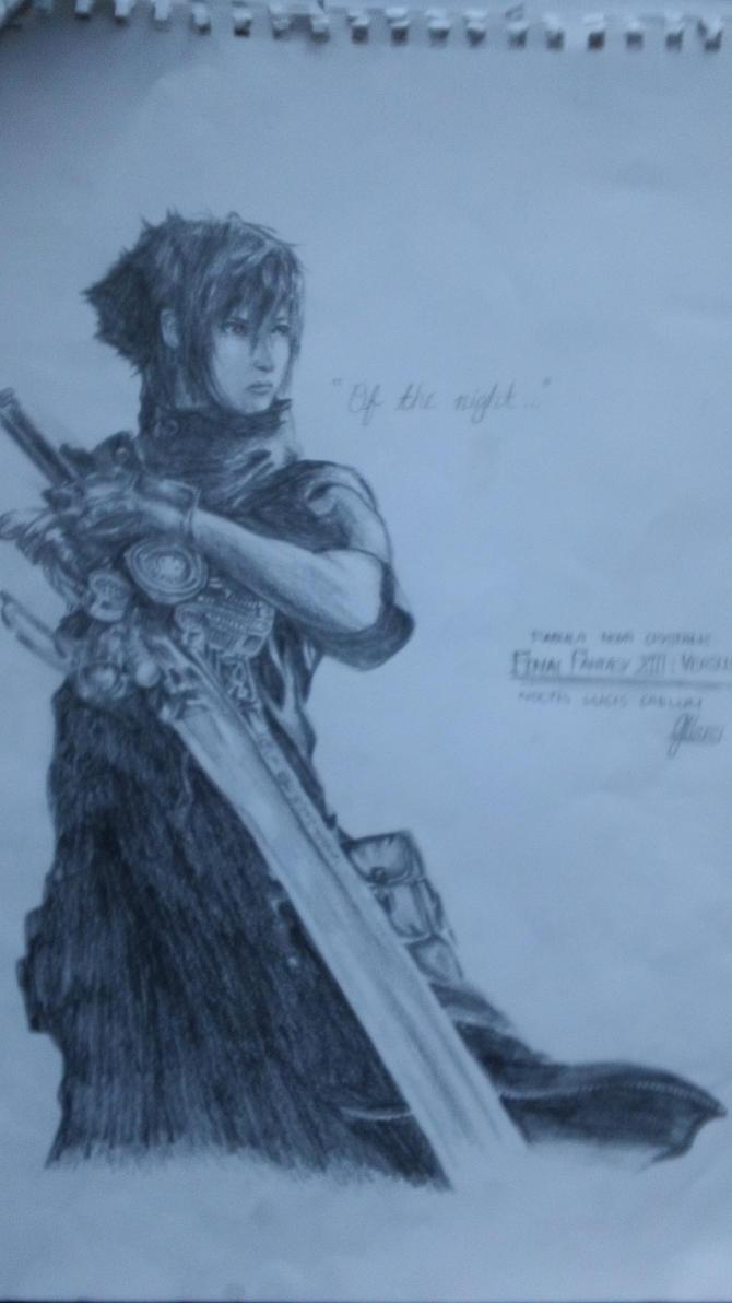 Yush's Traditional & Digital Arts Noctis__ffxiii_versus_drawing_by_mrotakushodo-d4dr7em