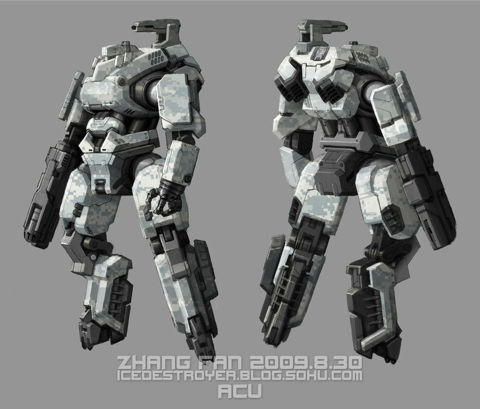 Humanoid suspension arm by zhegesha