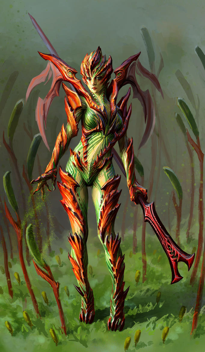 Carnivorous Plant by icedestroyer