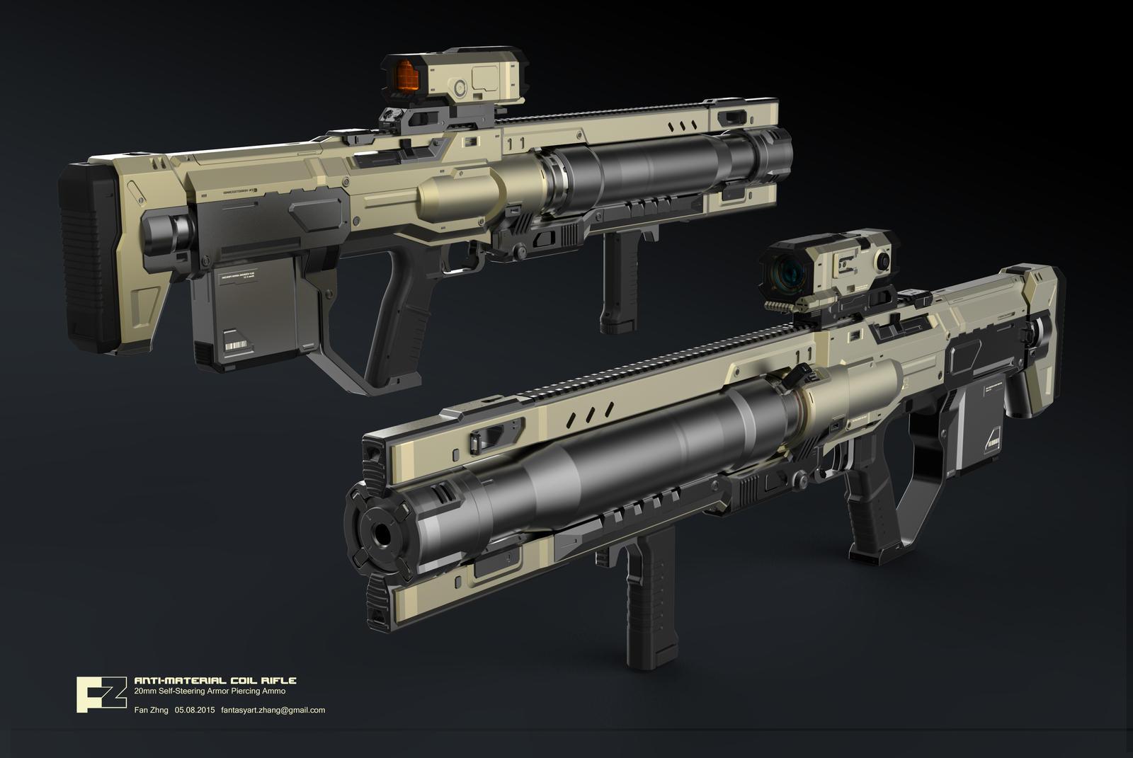 ANTI-MATERIAL COIL GUN