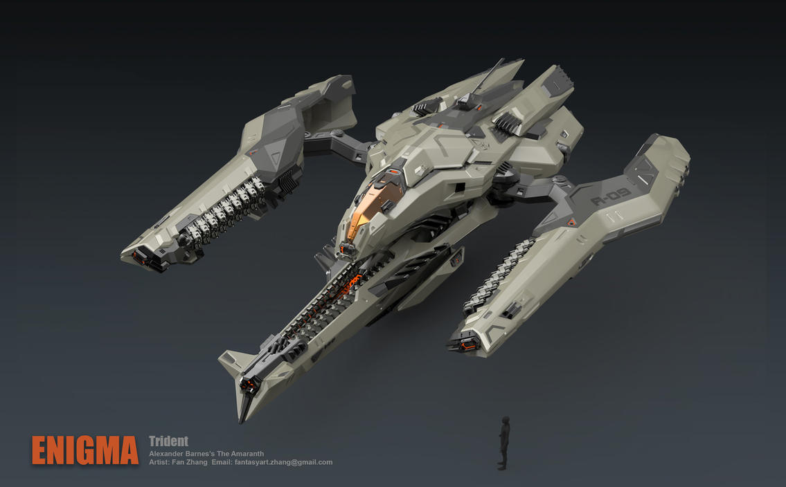 Trident Bomber- Attack mode by icedestroyer