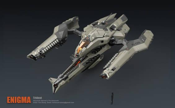 Trident Bomber- Attack mode