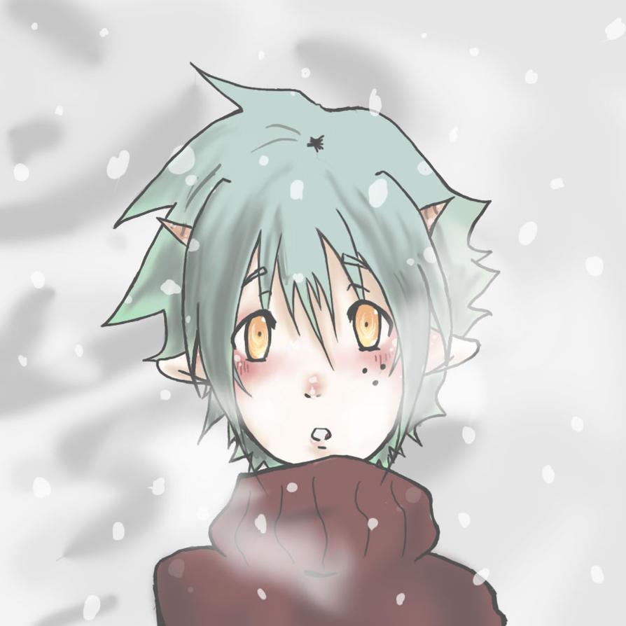 Snowy Day by PockyLuvz