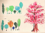 Trees set by saysly