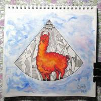 Galaxy lama by saysly