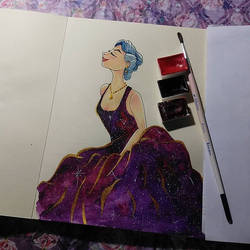 Galaxy princess by saysly
