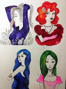 Galaxy ladies
