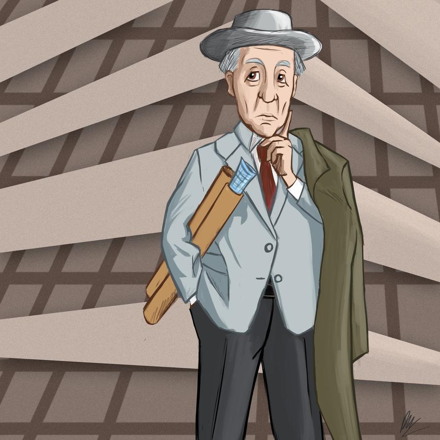 Frank Lloyd Wright by Daniel-McCloskey