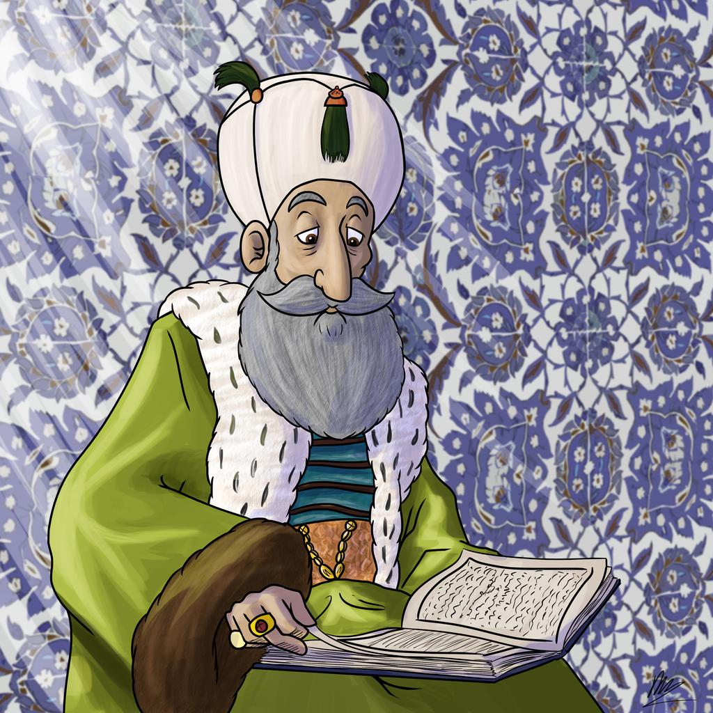 Suleiman by Daniel-McCloskey