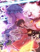 Reimu vs Yuyuko