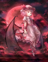 Remilia Scarlet by tauminust