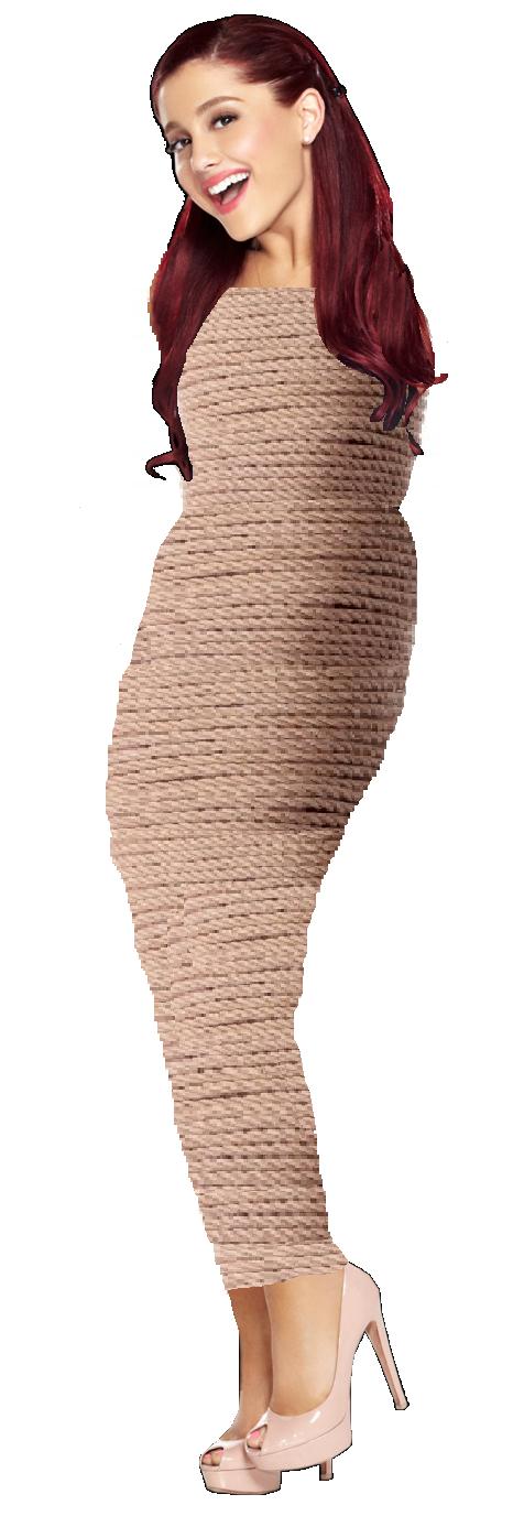Ariana Grande Rope Mummified by MegaVenusaur on DeviantArt