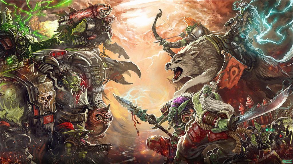 Orks vs. Orcs - Who wins?