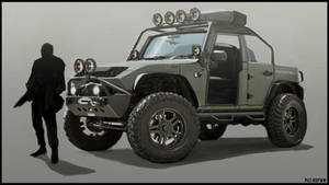 Primal Carnage jeep concept