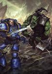 Space marine vs Ork 2.0