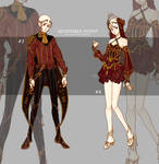 [CLOSE] Outfits Adoptable auction 3-4 [$15] by iononion