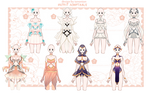 [OPEN] Outfits Adoptable auction by iononion