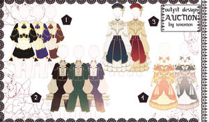 [OPEN 1 2 ] Outfits Adoptable auction sb 15$