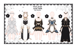 [OPEN] Female Outfits Adoptable auction by iononion