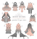 OPEN Auction - Outfit Adoptable Set 6 your colors