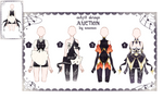 CLOSE Auction - Outfit Adoptable by iononion