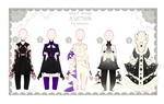 OPEN (4) Auction - Outfit Adoptable