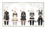 OPEN Auction Outfit Adoptable set 41