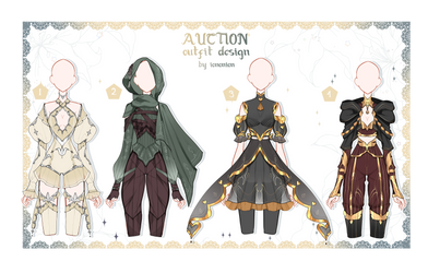 OPEN Auction Outfit Adoptable set 42